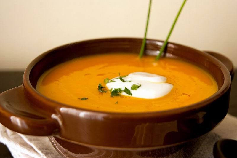 Calabaza y curry una excelente combinación