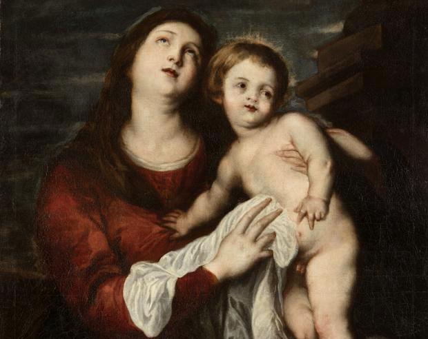 Un Museo español descubre inédito cuadro de Van Dyck
