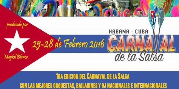 Primer Carnaval de la Salsa en Cuba