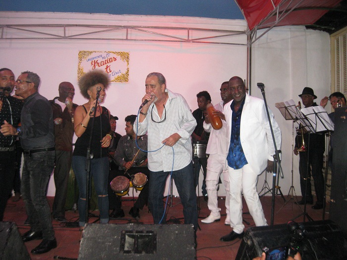 Andy Montañez en Santiago De Cuba (+Fotos)