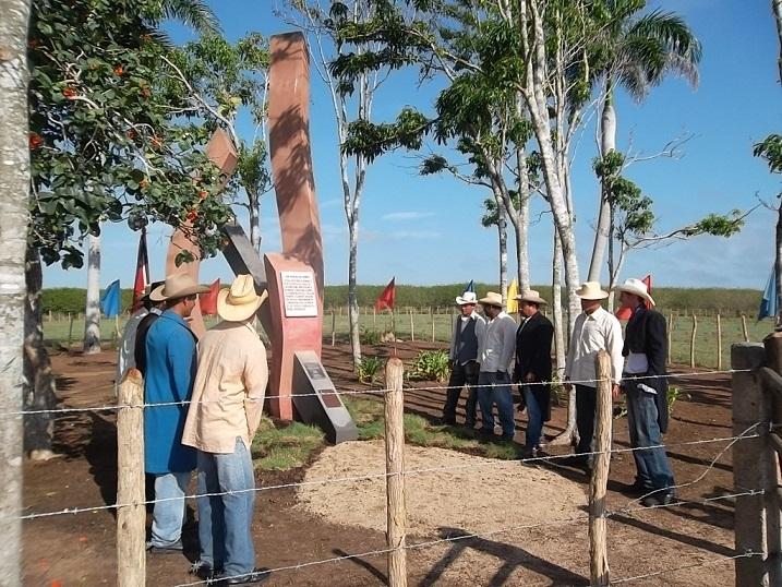 Conmemoraron Aniversario 25 del Monumento Nacional San Miguel del Rompe