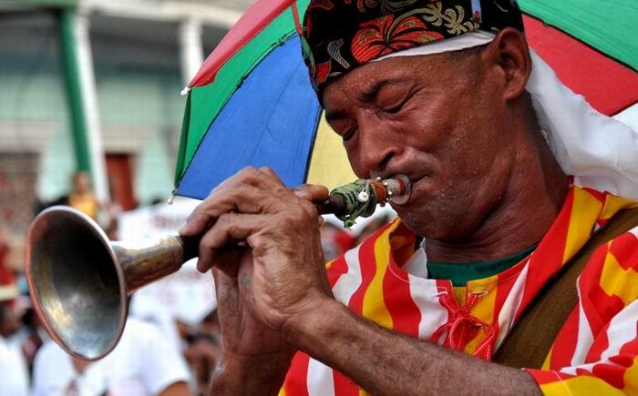 Comienza Carnaval guantanamero. Foto: Lorenzo Crespo Silveira