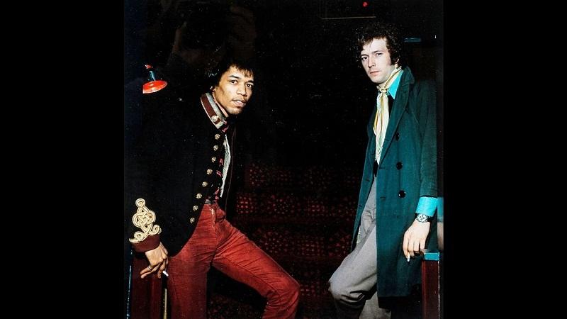 Cuando se conocieron Hendrix y Clapton (+Audio y Video)
