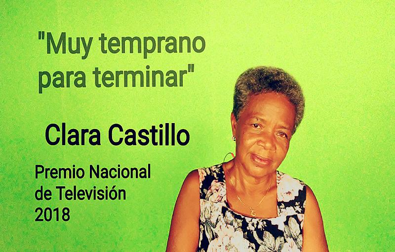 """Clara Castillo: """"La televisión me ayudó a reincorporarme a la vida"""""""