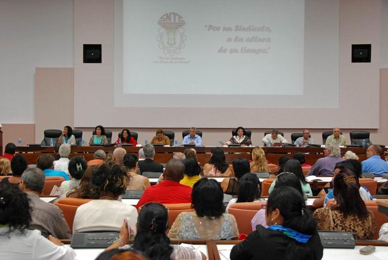 Ulises Guilarte de Nacimiento, secretario general de la Central de Trabajadores de Cuba