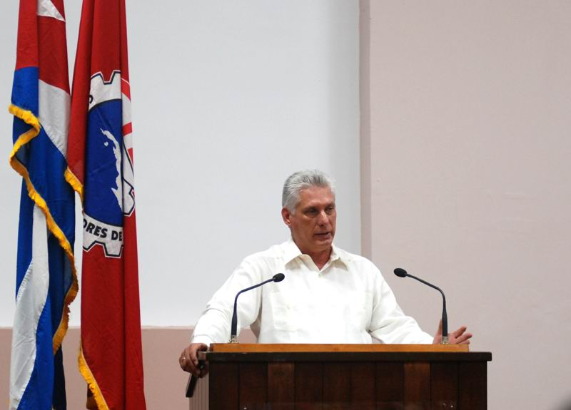 Cuban President calls for authentic cultural development