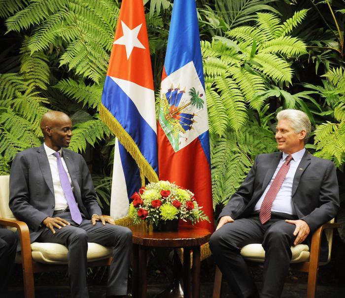 Recibió Díaz-Canel al Presidente de Haití