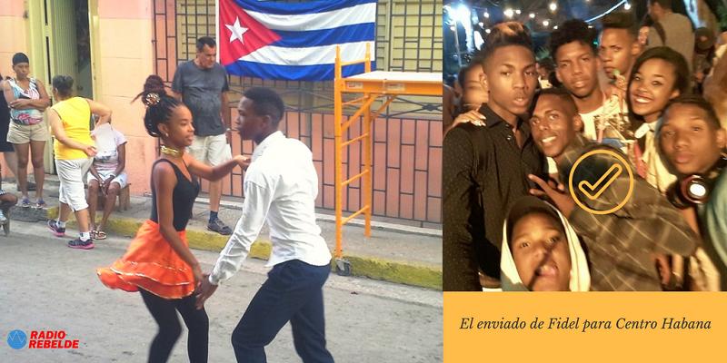 Rolmi: el enviado de Fidel para Centro Habana (+Audio y Fotos)