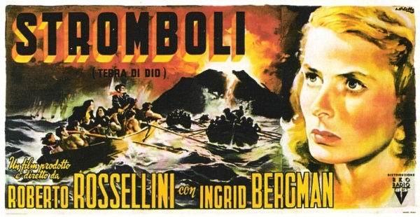 Roberto Rossellini dirigió Strómboli (1941)