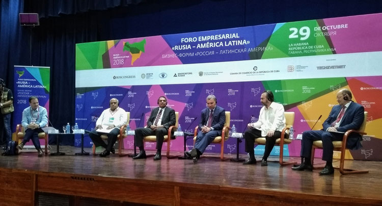 Business Forum Russia-Latin America and the Caribbean held in Havana