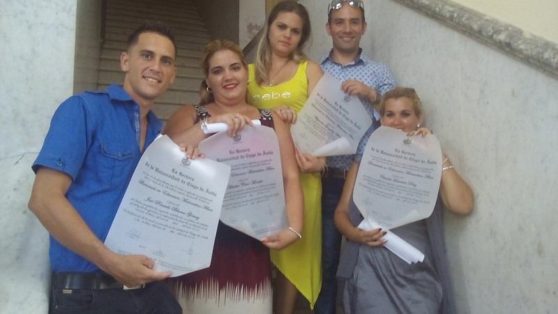 Realizan en Ciego de Ávila quinta graduación de Escuelas Pedagógicas