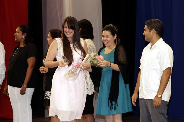 Graduación de la Universidad de Ciencias Informáticas, efectuada en el Teatro Karl Marx, en La Habana, el 19 de julio de 2018. ACN FOTO/Alejandro RODRÍGUEZ