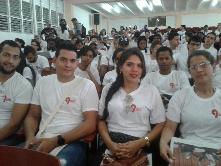 The IX Congress of FEU is celebrated in the University of Cienfuegos