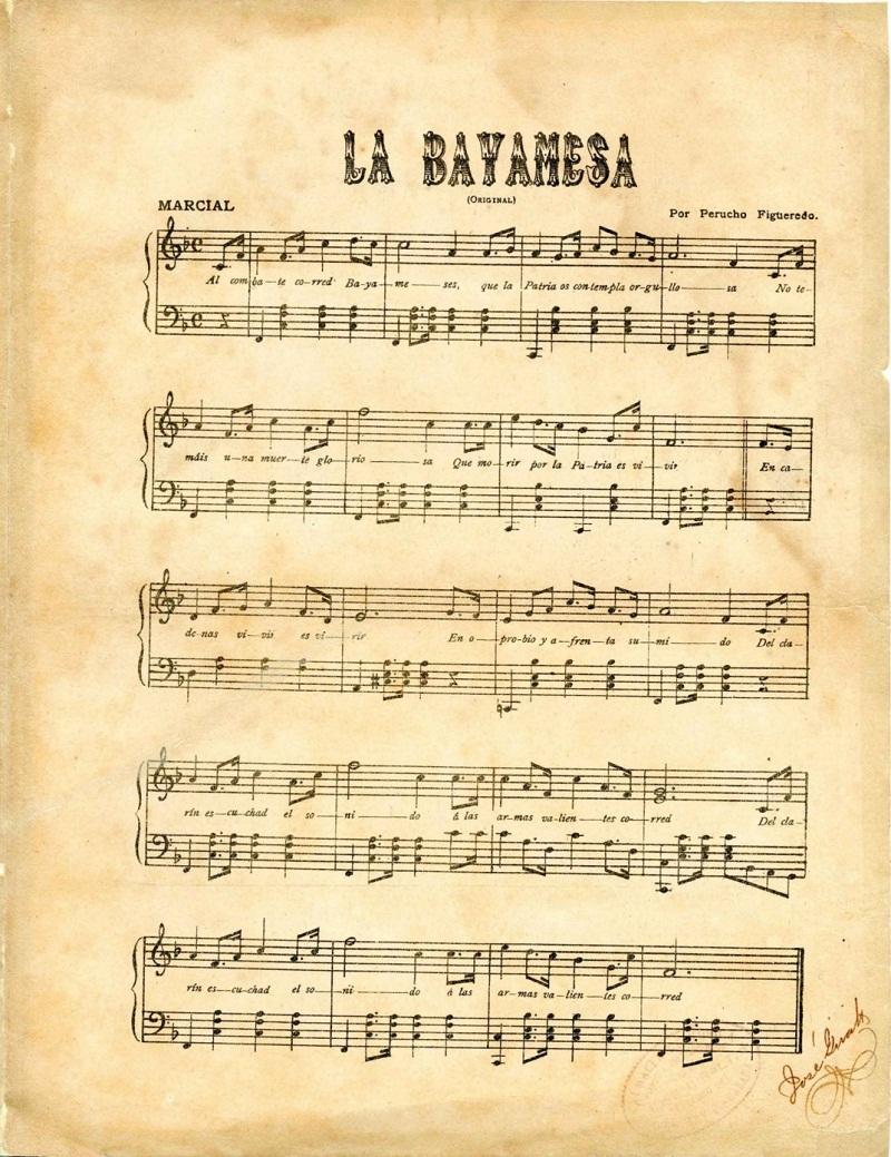La Bayamesa, inspiración para tres canciones y un himno