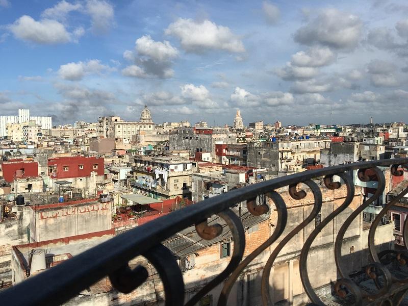 La Habana de arriba... un tour desde los taxis voladores