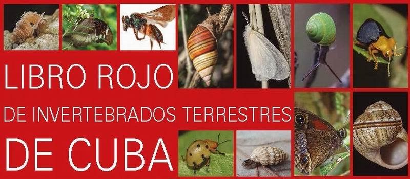 Libro Rojo de Invertebrados terrestres de Cuba