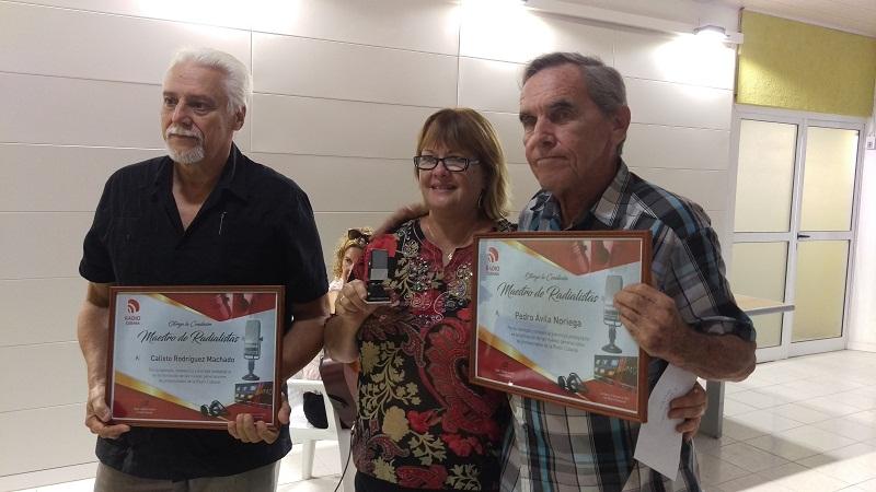 Incorpora la Radio Cubana más Maestros de Radialistas (+Fotos)