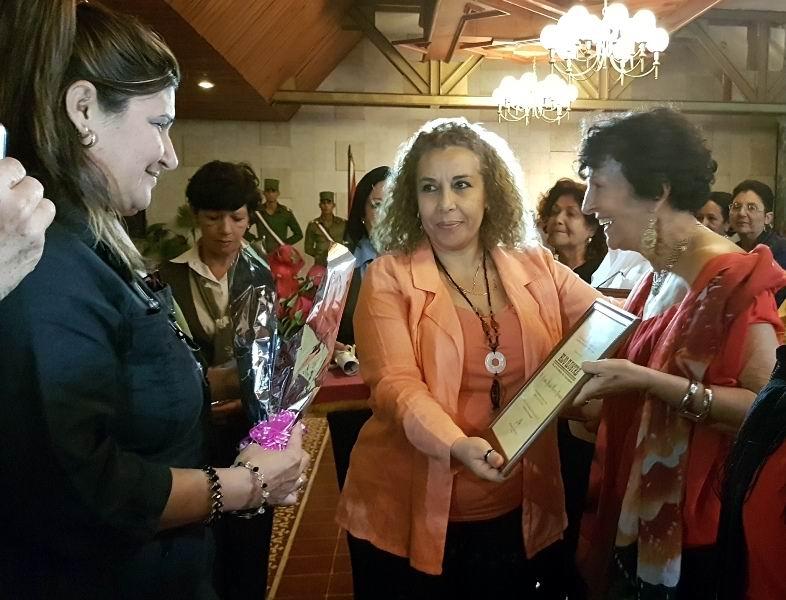 Marilyn Becerra distinguida como Hija Ilustre de Camagüey.