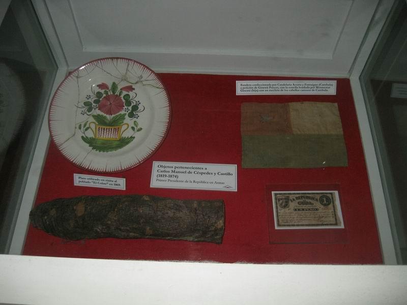Objetos del Padre de la Patria se muestran en Santiago de Cuba