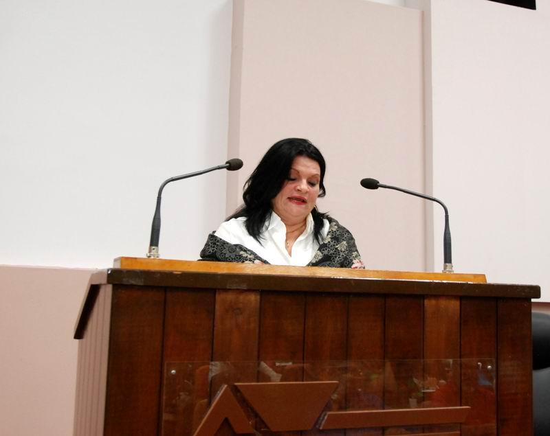 Nereida López Labrada, secretaria general del SNTC