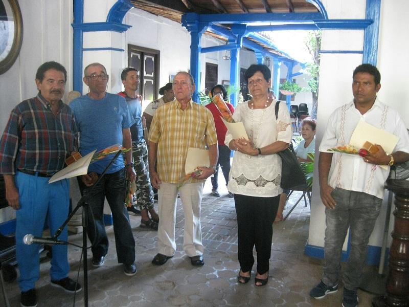 Placa Heredia para cinco destacados artistas santiagueros