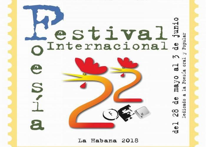 Celebrarán Festival Internacional de Poesía de La Habana