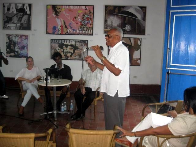Compositor Rodulfo Vaillant, Presidente del Comité Provincial de la UNEAC santiaguera