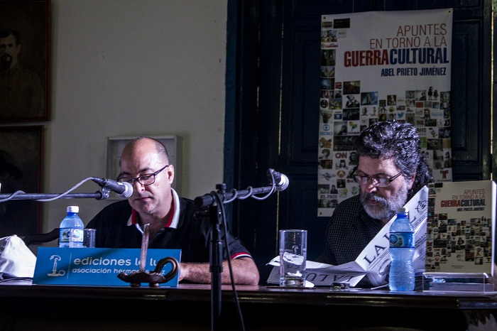 Abel Prieto y sus apuntes sobre la guerra cultura (+Fotos)