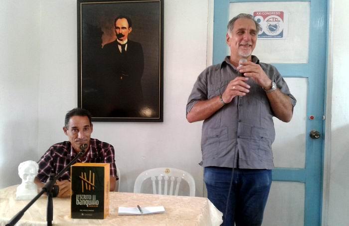 Presentan en Mayabeque libro Escrito desde el banquillo (+Audio)
