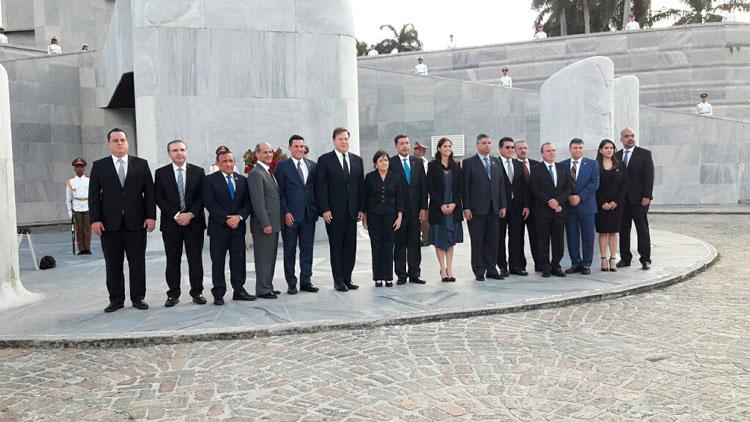 Recibe Díaz-Canel a Presidente de Panamá