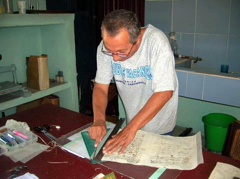 Camagüey por la conservación patrimonio documental histórico