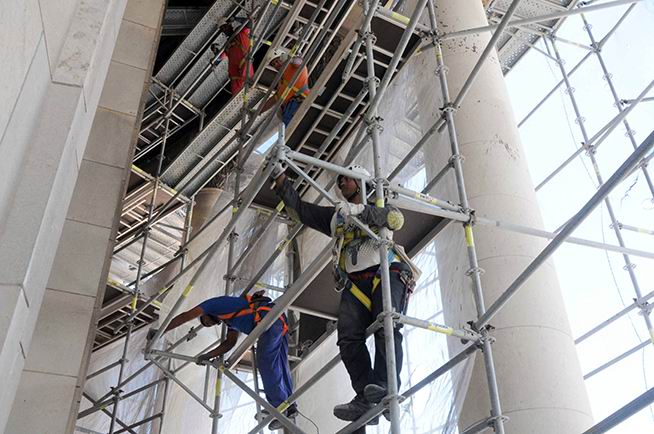 Dome of Havana Capitolio undergoes complex restoration