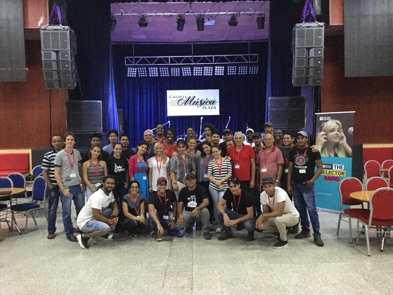 Sesionó en La Habana Taller sobre Presentaciones Musicales en Vivo