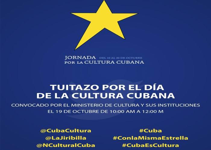 Un Tuitazo por la Cultura Cubana