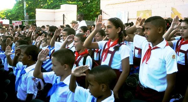 Inauguran nuevo curso escolar en Cuba. Foto AIN/Oriol de la Cruz