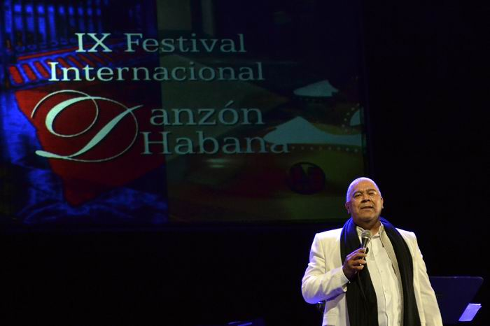 Danny Rivera participa en el festival del Danzón. Foto: Abel Rojas Barallobre