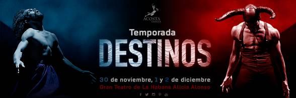 """Acosta Danza estrenará """"Destinos"""" en el Gran Teatro de La Habana"""