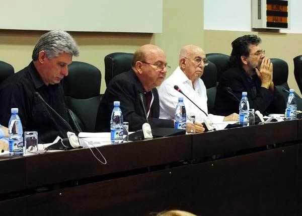 Asiste Díaz Canel al VIII Congreso de la UNEAC. Foto: Abel Rojas Barallobre.