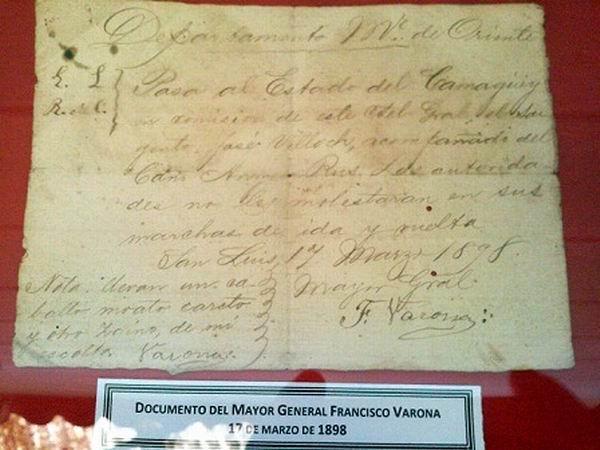 Donaron los tuneros documentos inéditos de la época colonial