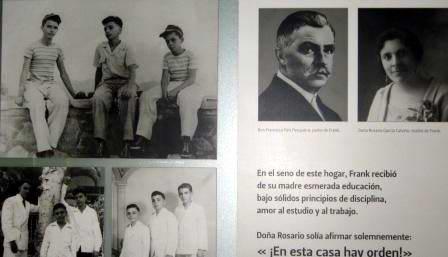 Documentos familiares de Frank País