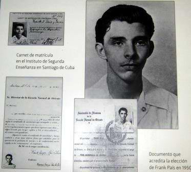 Documentos personales de Frank País