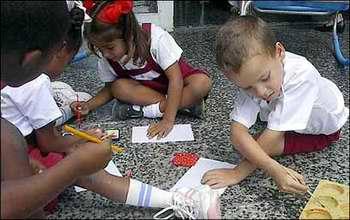 Educaci�n preescolar en Cuba