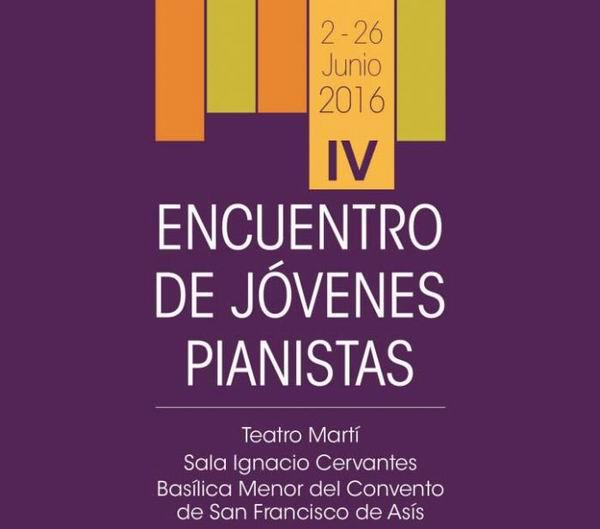Celebrarán en Cuba IV Encuentro de Jóvenes Pianistas