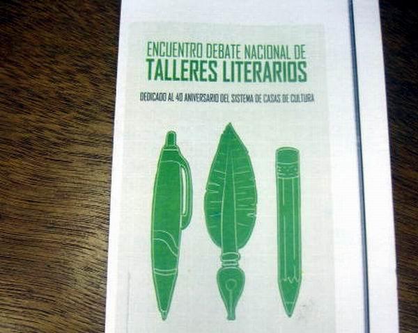 Encuentro de Talleres Literarios en Santiago de Cuba