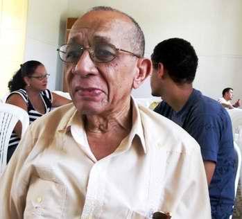 Enrique Pardo Galindo autor del libro . Foto Miozotis Fabelo