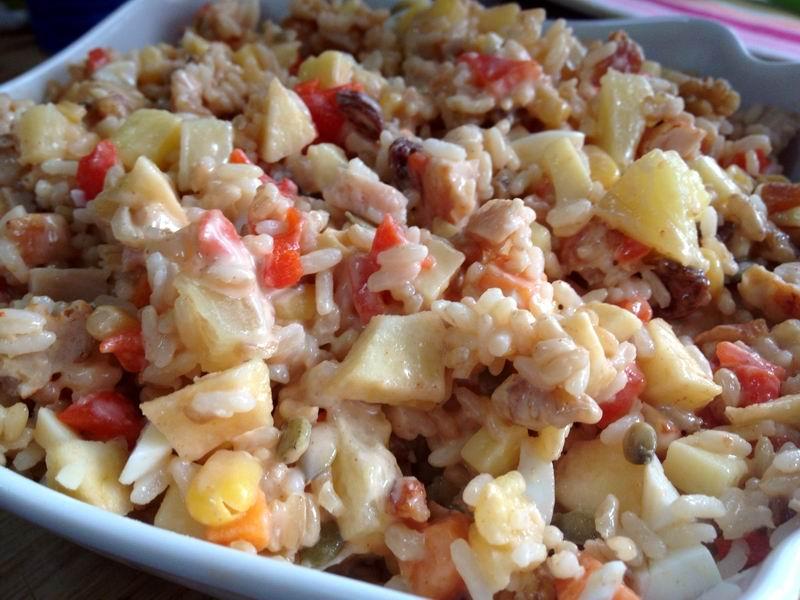 Ensaladas… de arroz