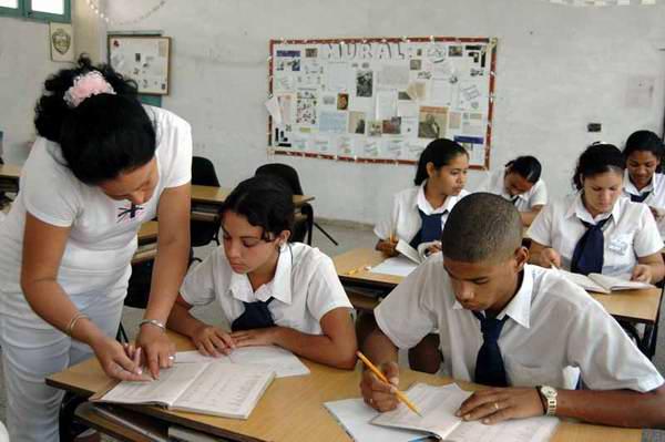 Plan de plazas a la educación superior cubana