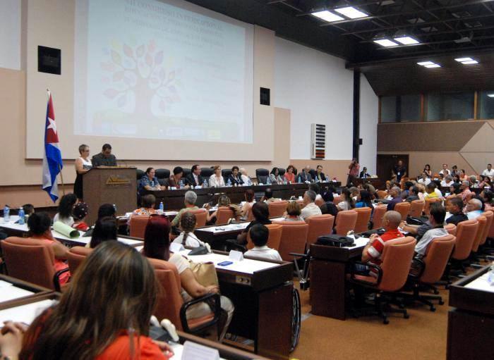 Comenz� en La Habana encuentro de pedagogos en ense�anza especial