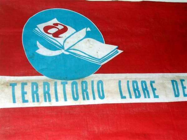 Capaña de alfabetización Cuba