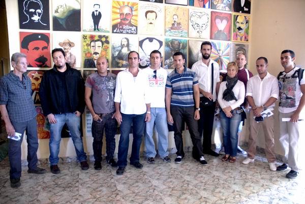 Sus ejecutores son integrantes del grupo de ilustradores Nueva Gente, quienes se han constituido además en una Cátedra Martiana. Foto: Yoandry Ávila